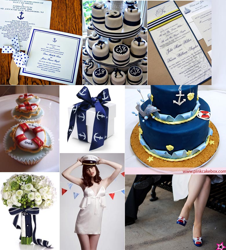 Nautical Theme Wedding Inspiration