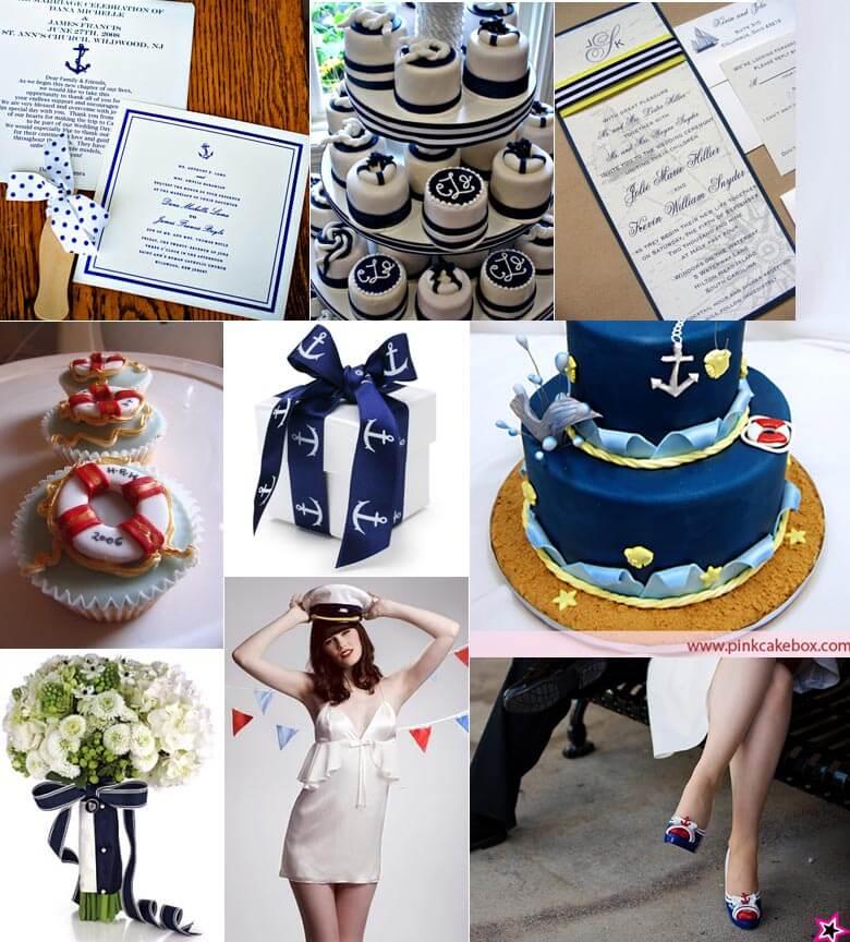 Nautical Theme Wedding Inspiration