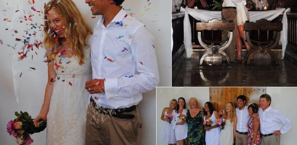 Rosie and Dan's Ibiza Wedding