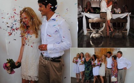 Rosie and Dan's Ibiza Wedding