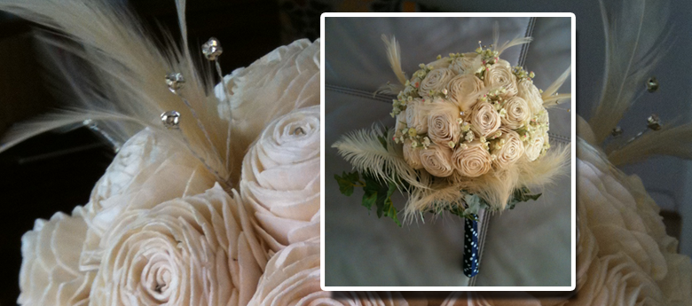 Make a vintage bouquet
