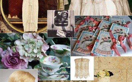 Vintage wedding theme inspiration