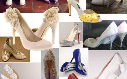 A Gorgeous Wedding Shoe Collection
