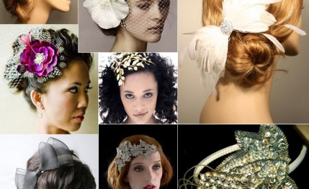 Modern wedding headpieces