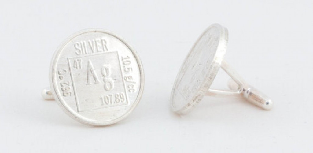 Unusual wedding cufflink collection