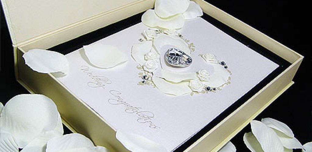 Beautiful wedding card