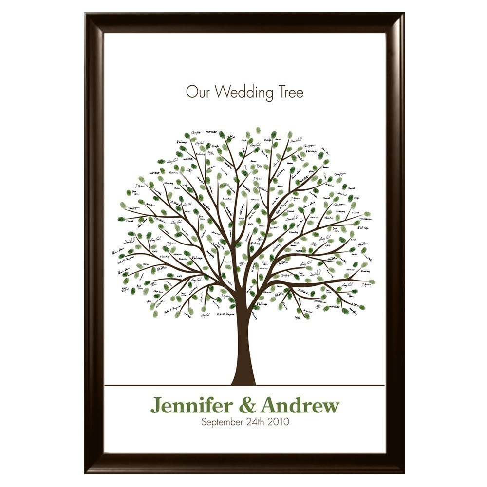grow a wedding tree real wedding