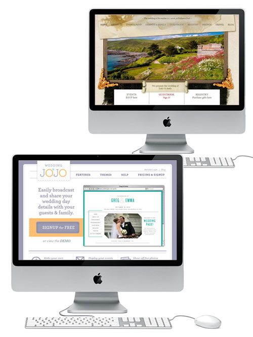 Make Your Life Easier And Build Your Own Wedding Website