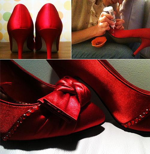 DIY your wedding shoes