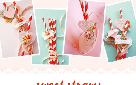 Sweet Straws DIY Project by Papermash