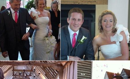 Tom and Niki – Suffolk barn wedding – part two