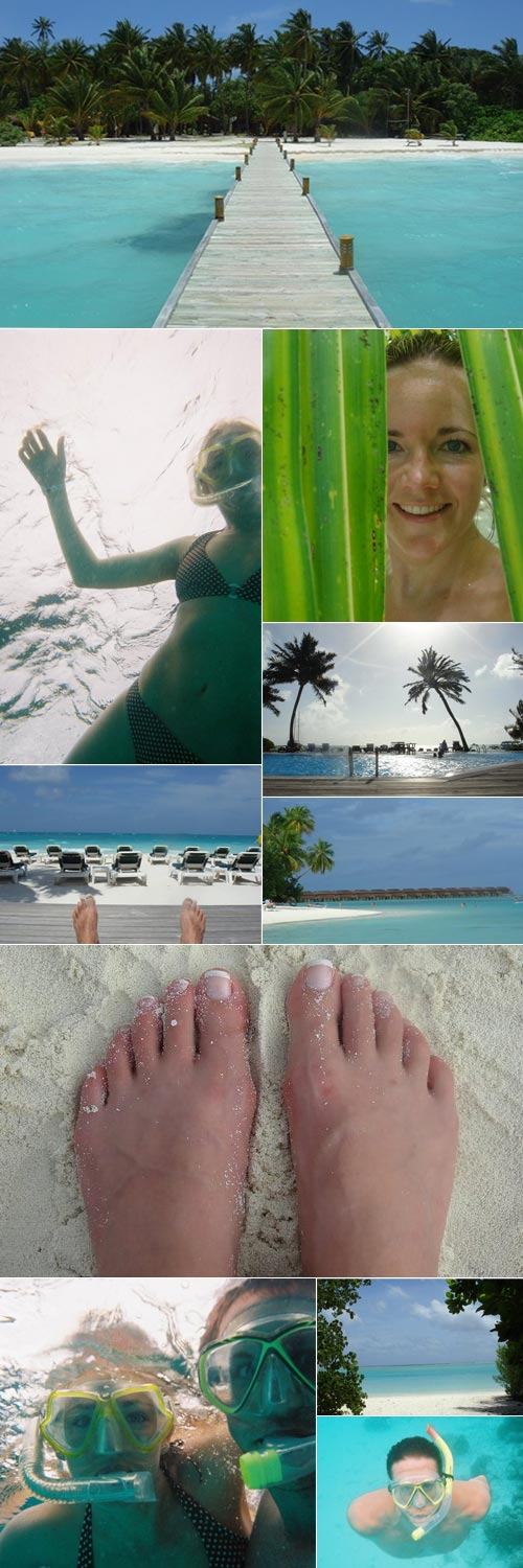 Tom and Niki - Honeymoon in The Maldives