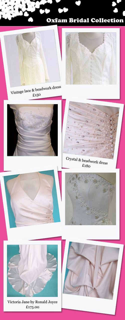 Oxfam Bridal Departments