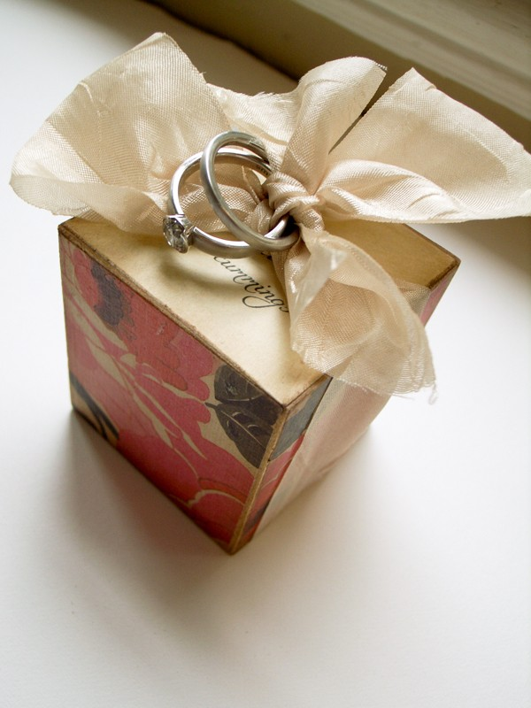 Custom made ring block