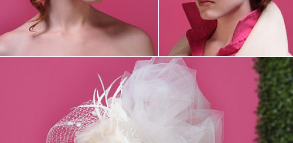 Bespoke wedding headpieces and hats by Kitty Andrews