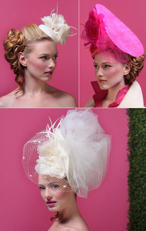 Bespoke wedding headpieces and hats by Kitty Andrews ...