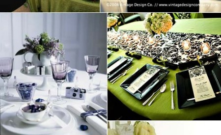 Gorgeous wedding reception table layouts