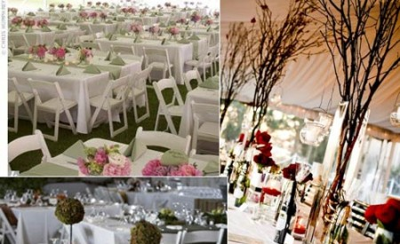 Even more wedding reception table layouts