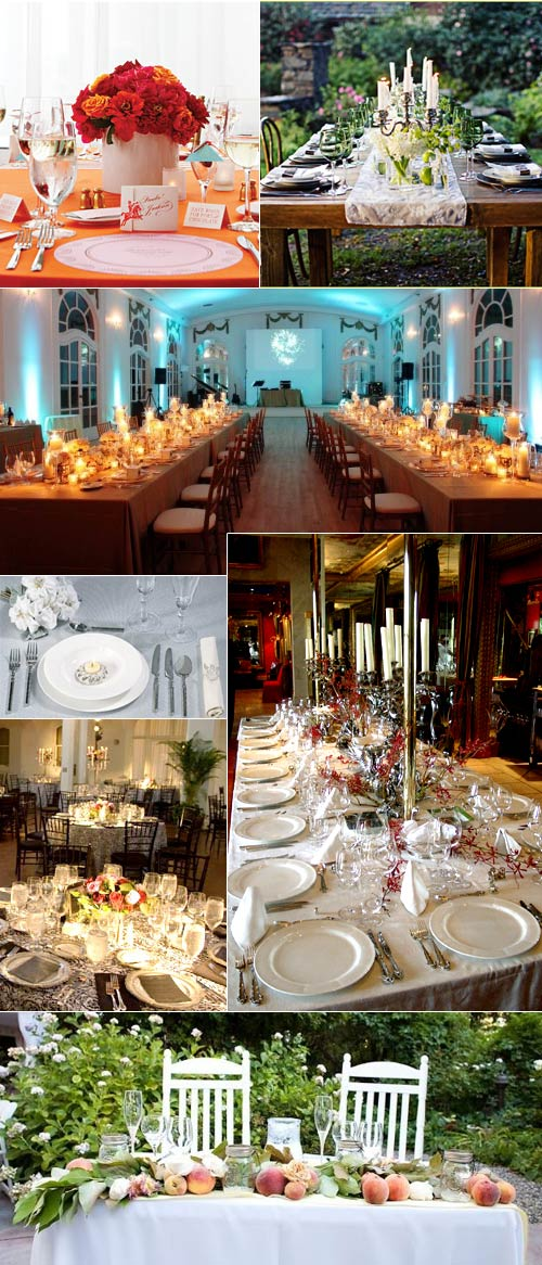 More stunning wedding reception table layouts real wedding for Wedding reception layout