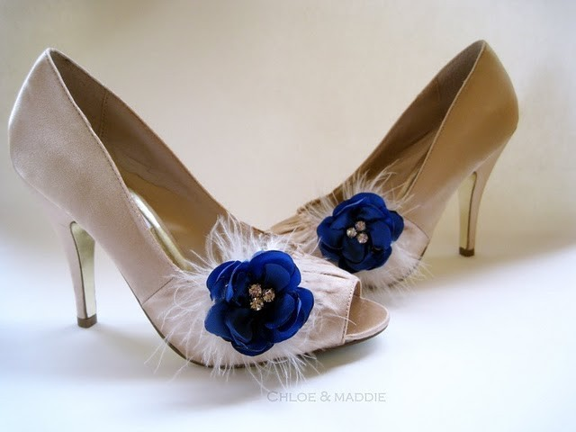 Chloe and Maddie Wedding Shoe Clips