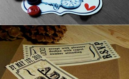 Wedding invitations by Leokadja Paper Designs