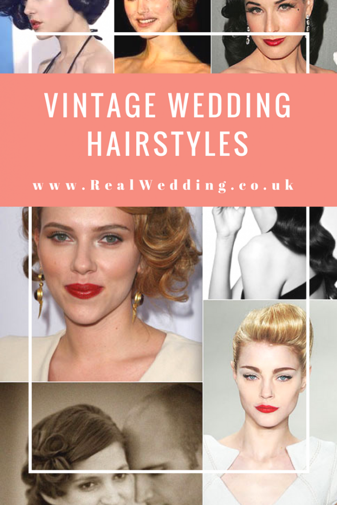 VINTAGE WEDDING HAIRSTYLES | Realwedding.co.uk
