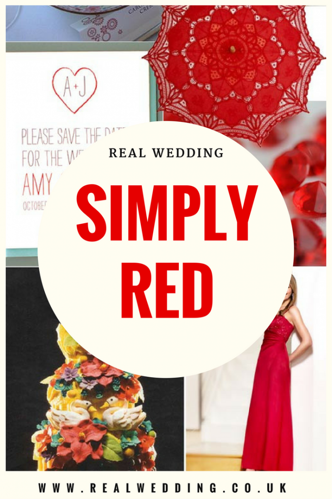 Simply Red | www.RealWedding.co.uk