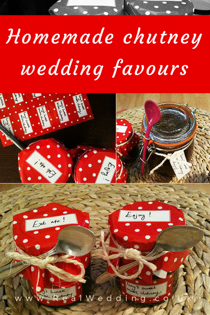 Homemade chutney wedding favours | RealWedding.co.uk