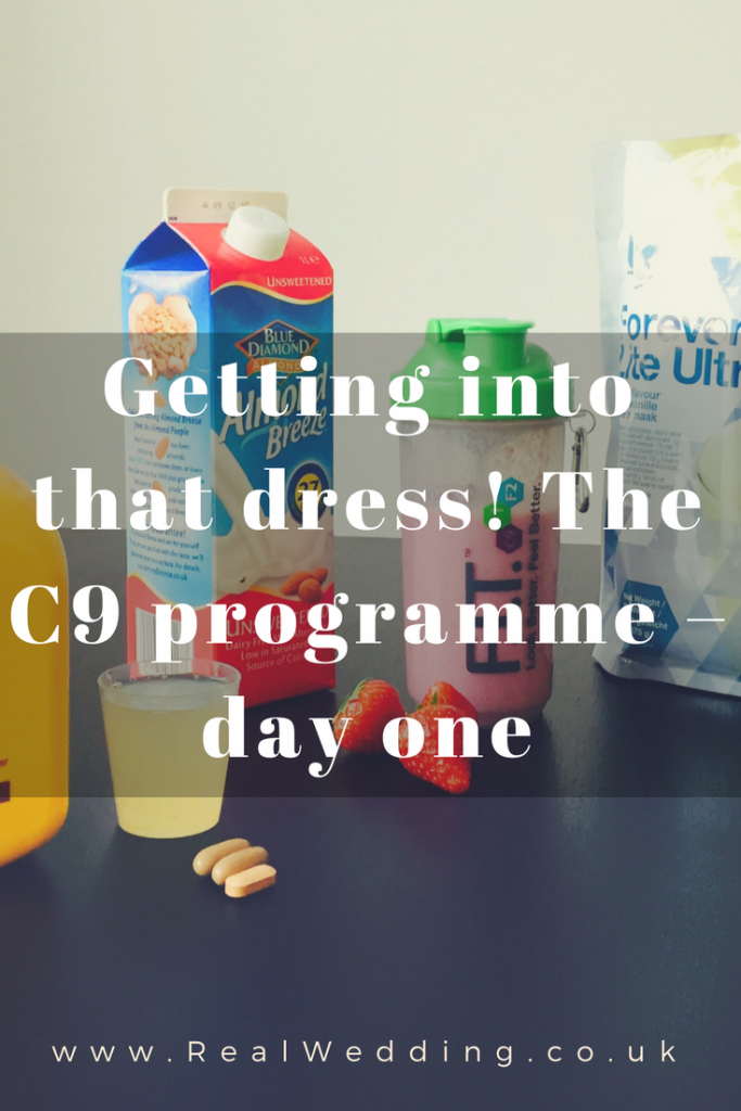 Getting into that dress! The C9 programme – day one | RealWedding.co.uk
