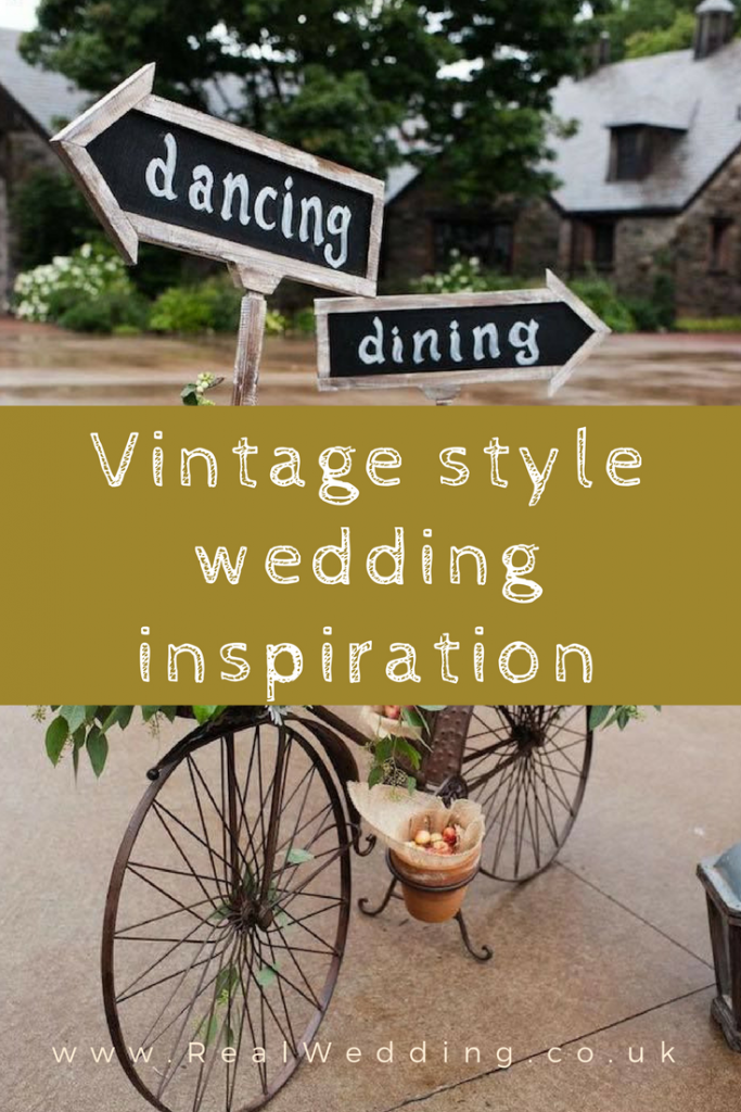 Vintage style wedding inspiration | RealWedding.co.uk