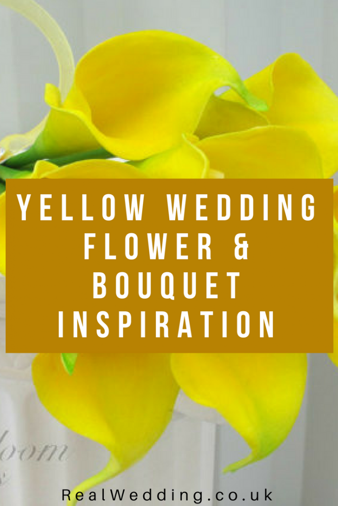 Yellow wedding flower & bouquet inspiration | RealWedding.co.uk