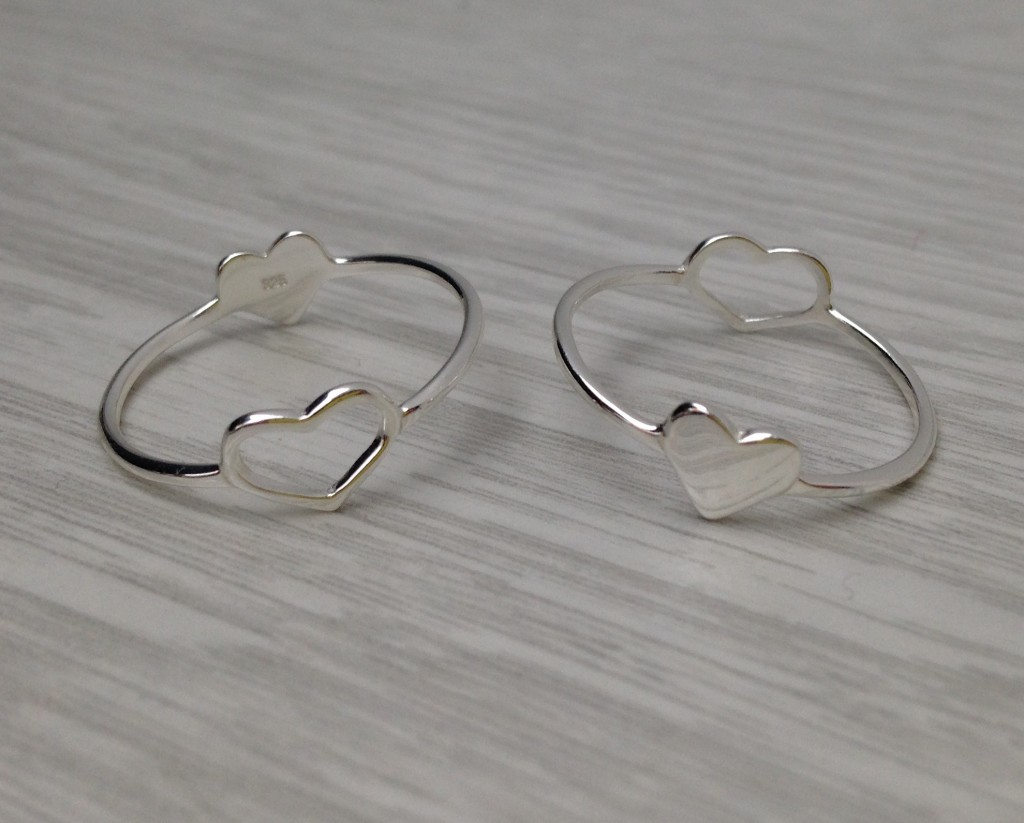double heart ring by givable.co