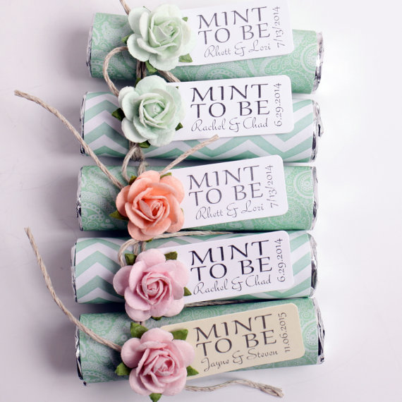Mint to be mint packs wedding favours under £1 realwedding.co.uk