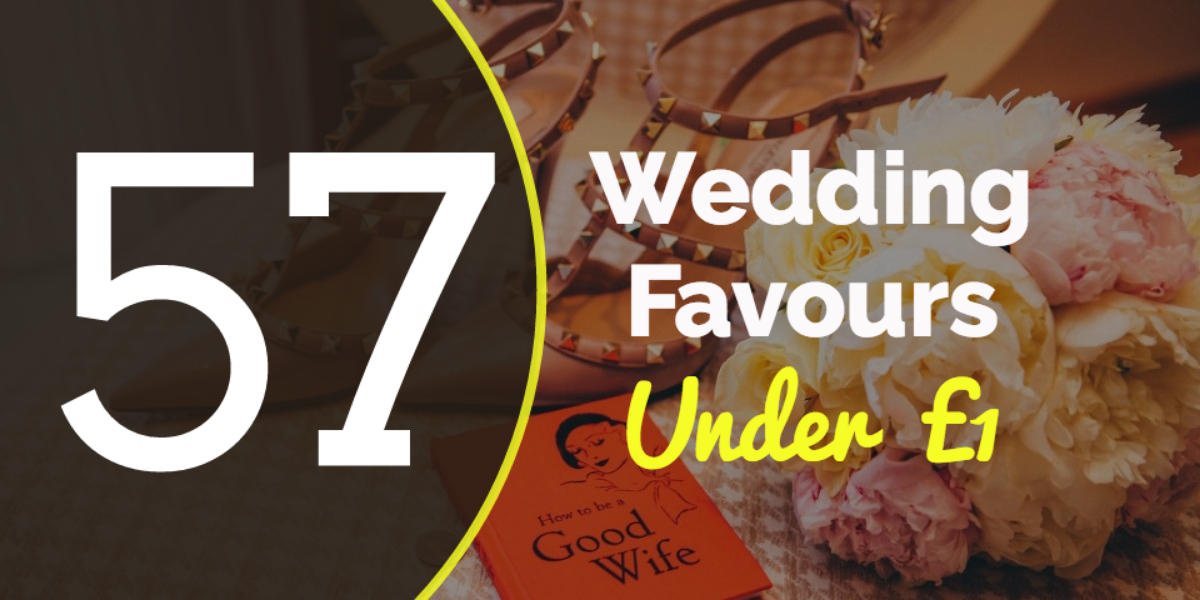 wedding favour ideas under £1