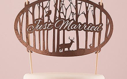 Wedding Cake Toppers For Every Budget, Style & Taste