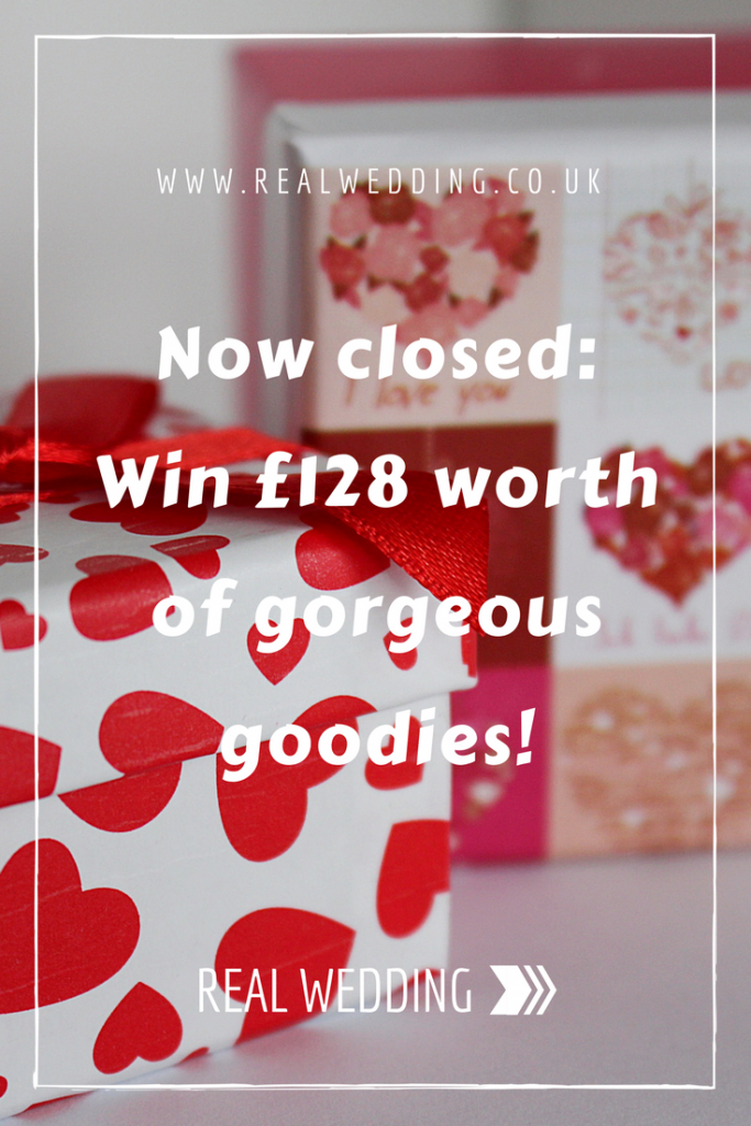 Now closed Win £128 worth of gorgeous goodies! RealWedding.co.uk