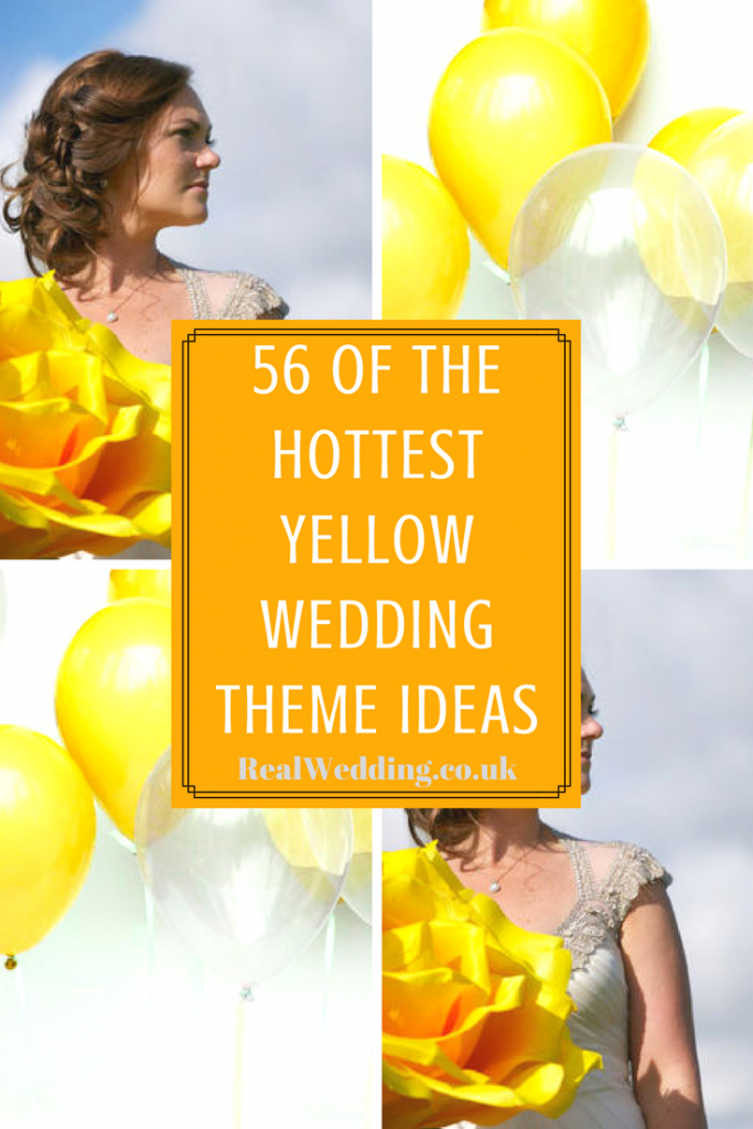 56 Of The Hottest Yellow Wedding Theme Ideas | RealWedding.co.uk