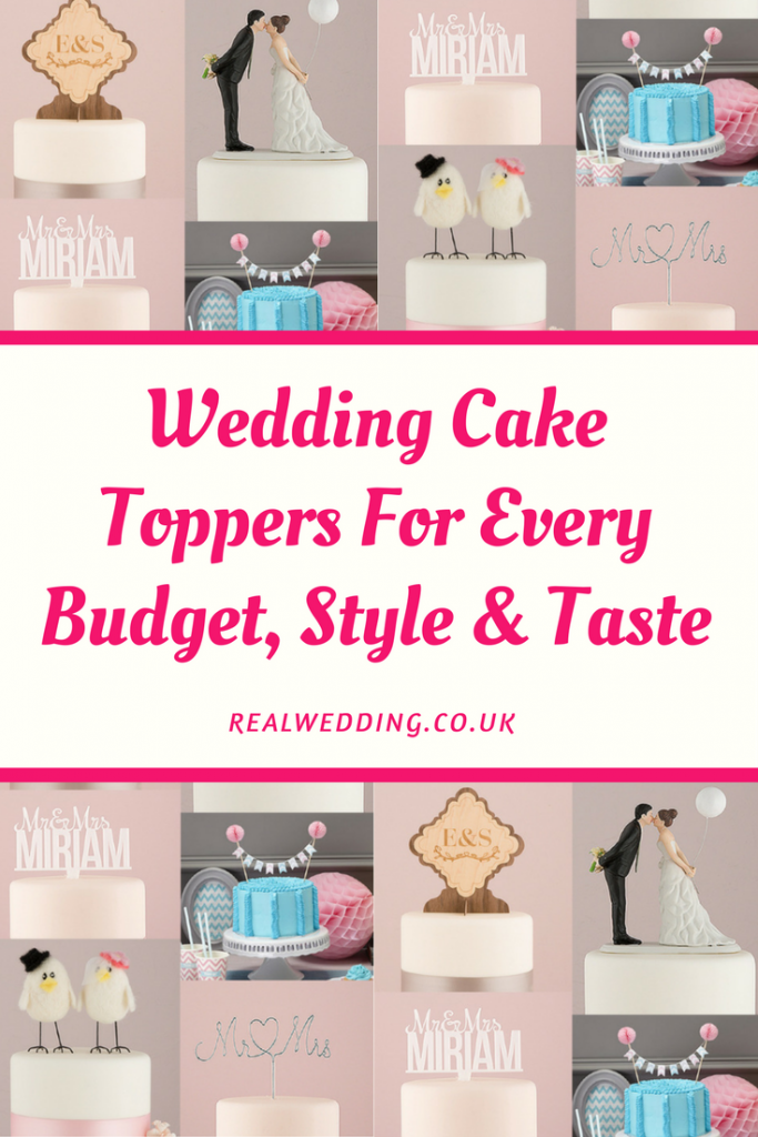 Wedding Cake Toppers For Every Budget, Style & Taste | RealWedding.co.uk