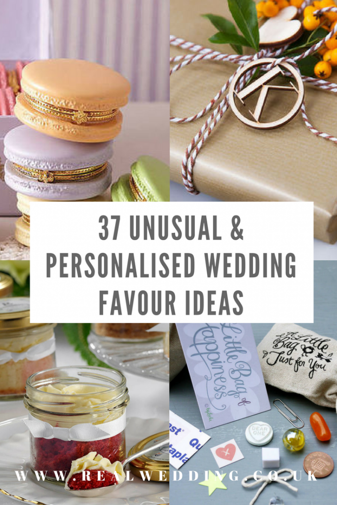 37-Unusual-&-Personalised-Wedding-Favour-Ideas | RealWedding.co.uk