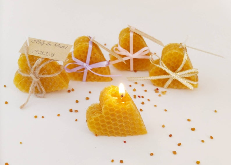 Unusual & Personalised Wedding Favour Ideas l Wedding Candles Gifts