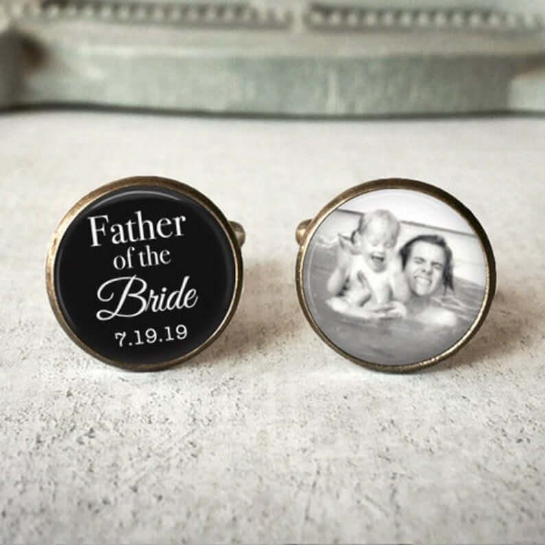 Unusual & Personalised Wedding Favour Ideas l Wedding Cuff Links