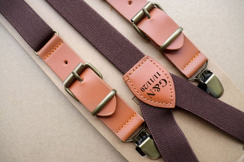 Unusual & Personalised Wedding Favour Ideas l Personalized Suspenders