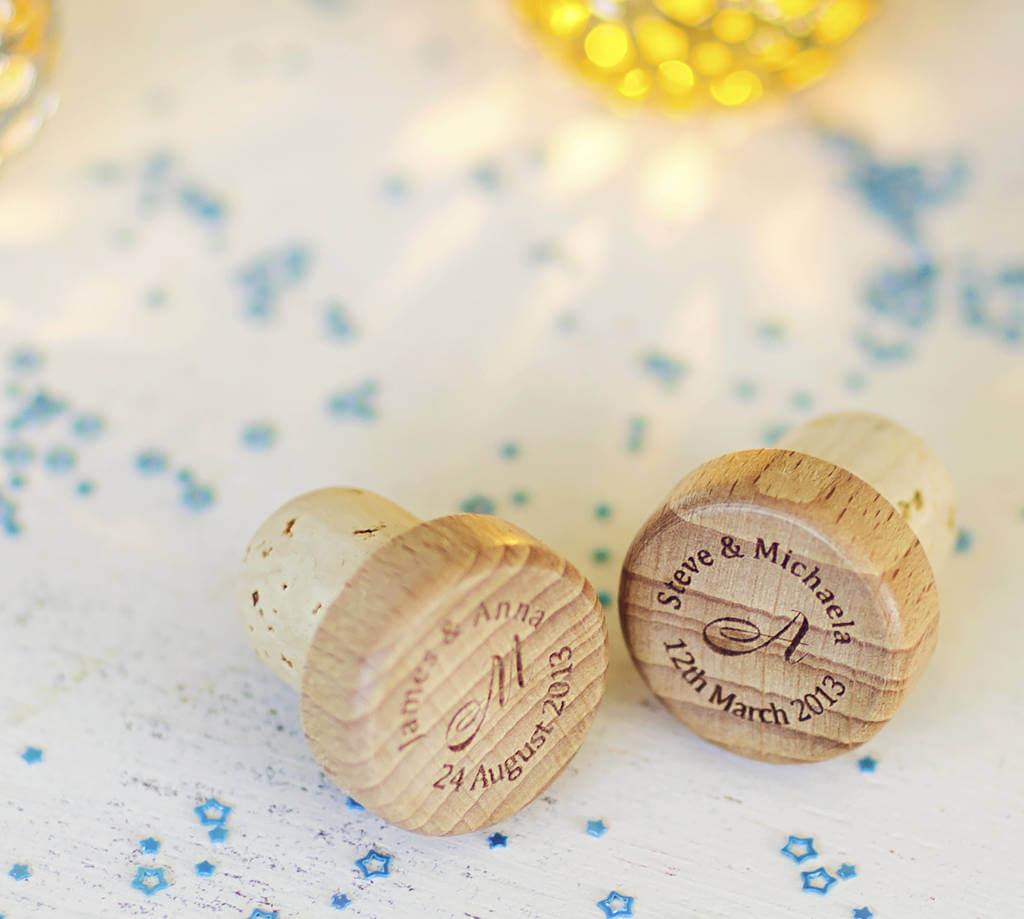 Unusual & Personalised Wedding Favour Ideas