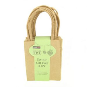 Hobbycraft Favour Gift Bag 10Pk