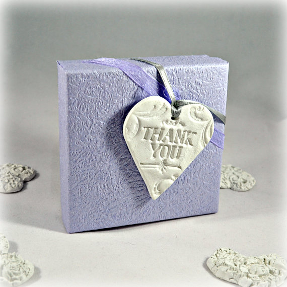 Thank you tags wedding favours | Cheap wedding favours under £1 | realwedding.co.uk
