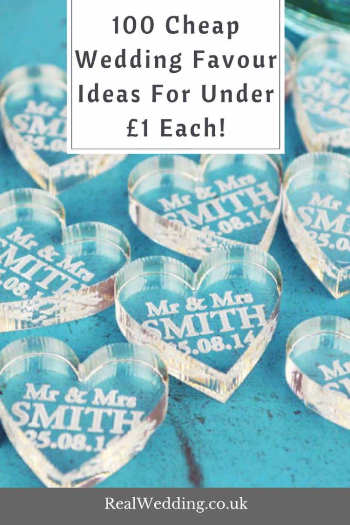 100 Cheap Wedding Favour Ideas For Under £1 Each! | RealWedding.co.uk