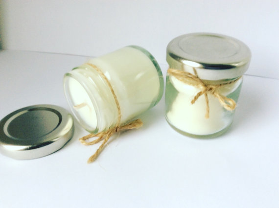 Personalised Candles Wedding Favours