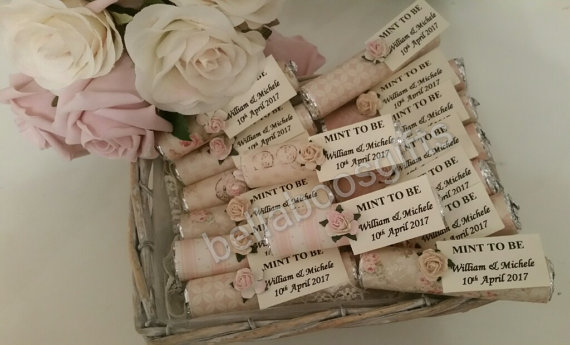 Mints wedding favours | Cheap wedding favours under £1 | realwedding.co.uk