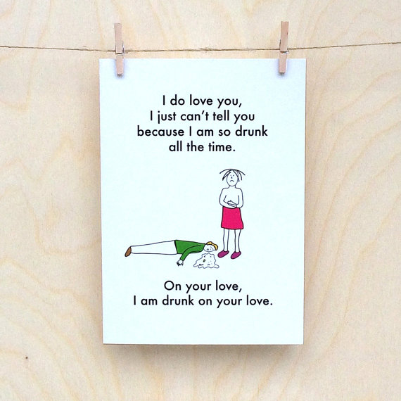 Real AF Valentine's Cards | Realwedding.co.uk