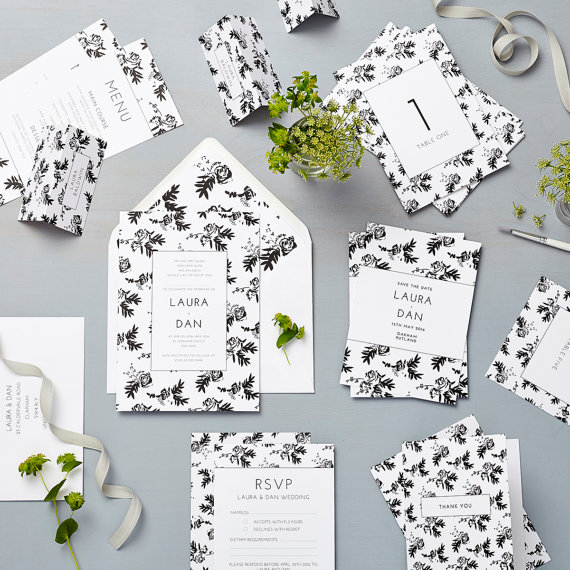 Flower Wedding Invites | Realwedding.co.uk
